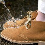 Обувь промокла