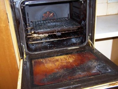 Как отмыть духовку внутри от старого пригоревшего жира в домашних условиях быстро и эффективно