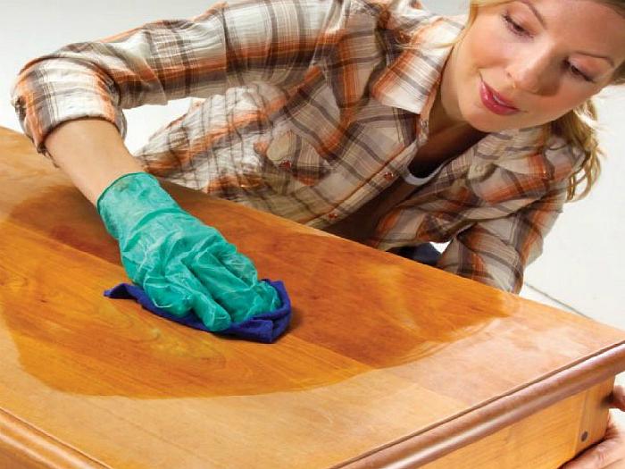 Как и чем почистить полированную мебель в домашних условиях