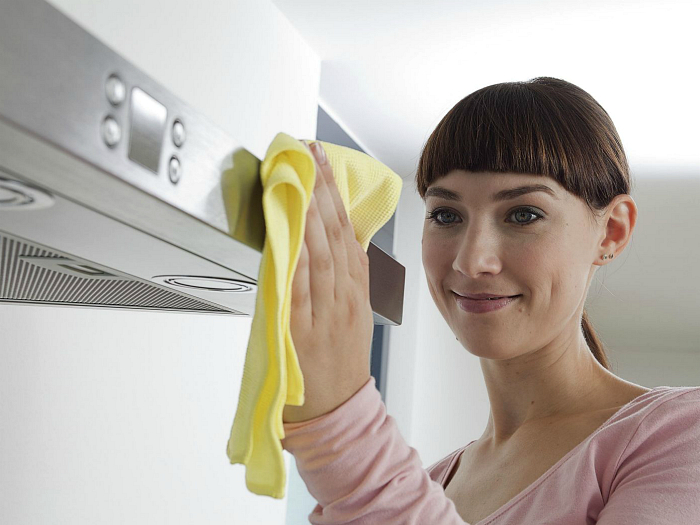 Как очистить шкафчики кухни
