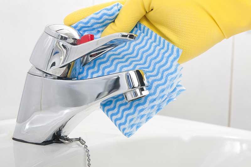 Как почистить налет с крана