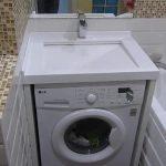 Установки стиральной машины