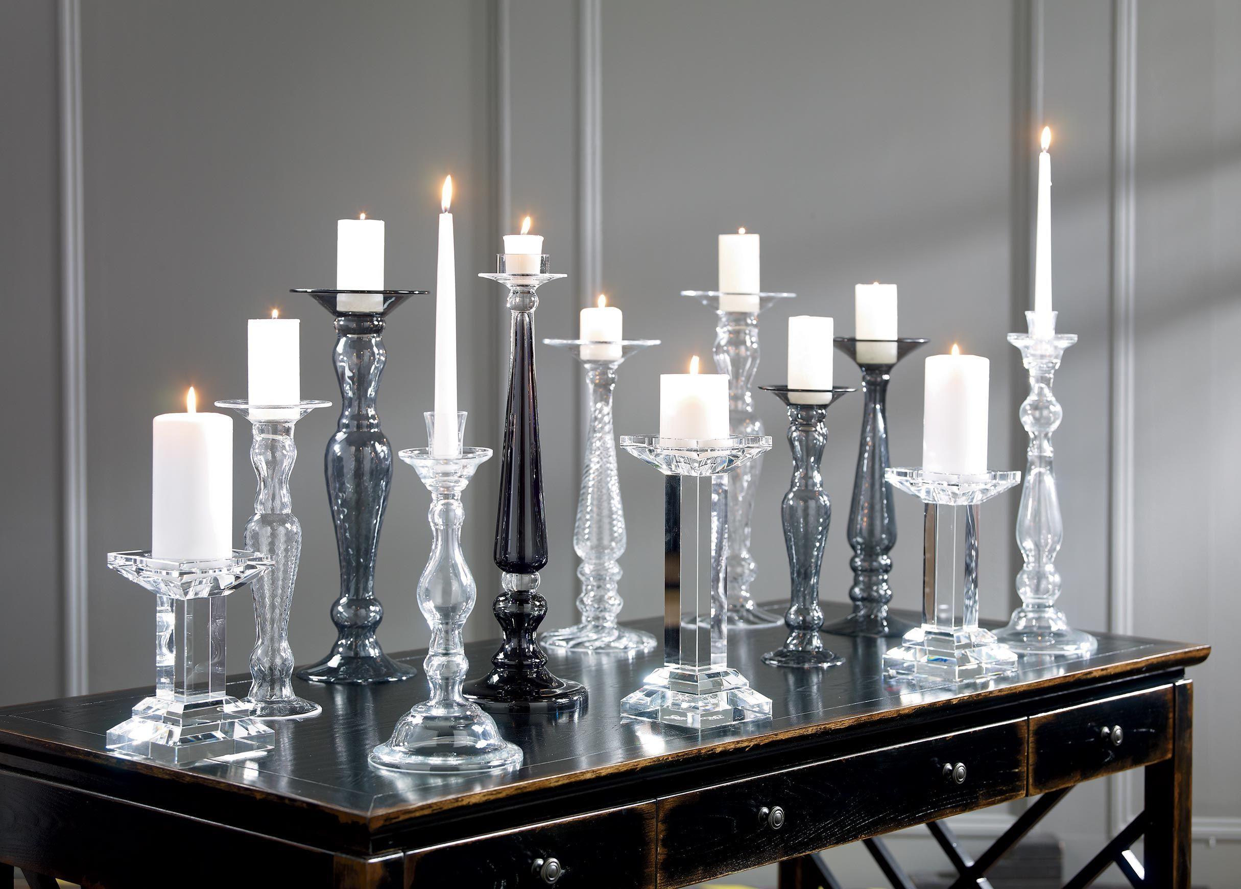 Свечи в хрустале