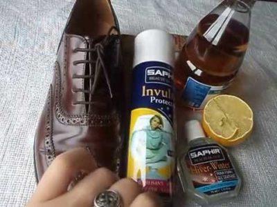Как убрать соль с обуви (замшевой, кожаной)?