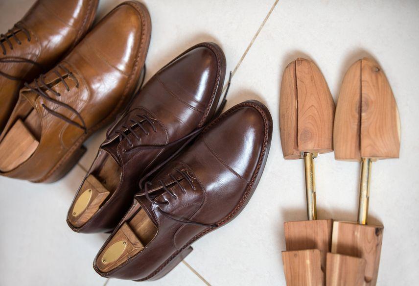 Профессиональное растягивание обуви
