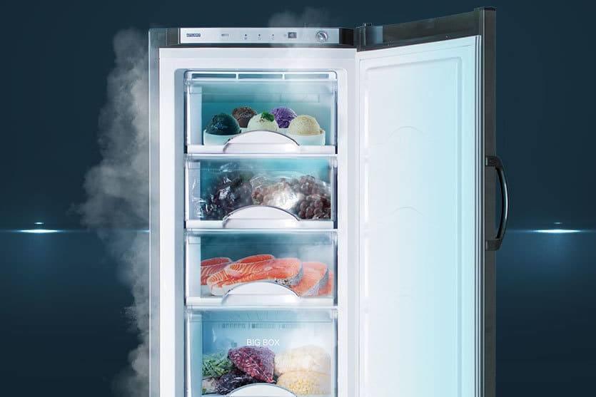 Быстрая заморозка продуктов
