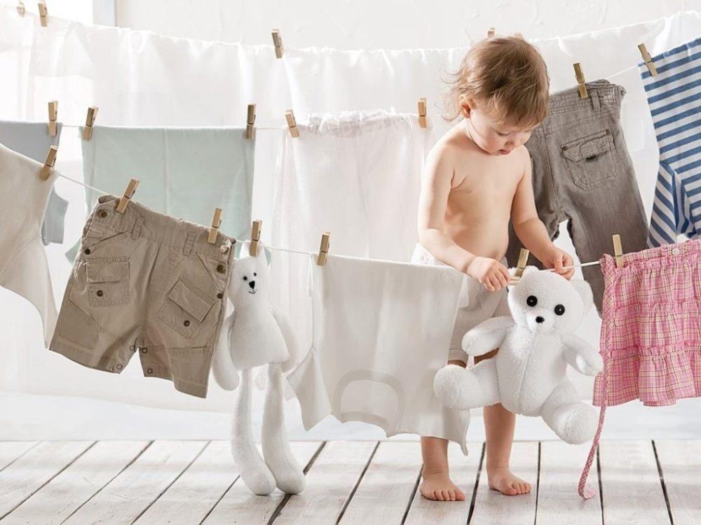 Как отстирать детские вещи от старых пятен в домашних условиях
