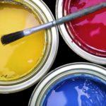 Следы краски