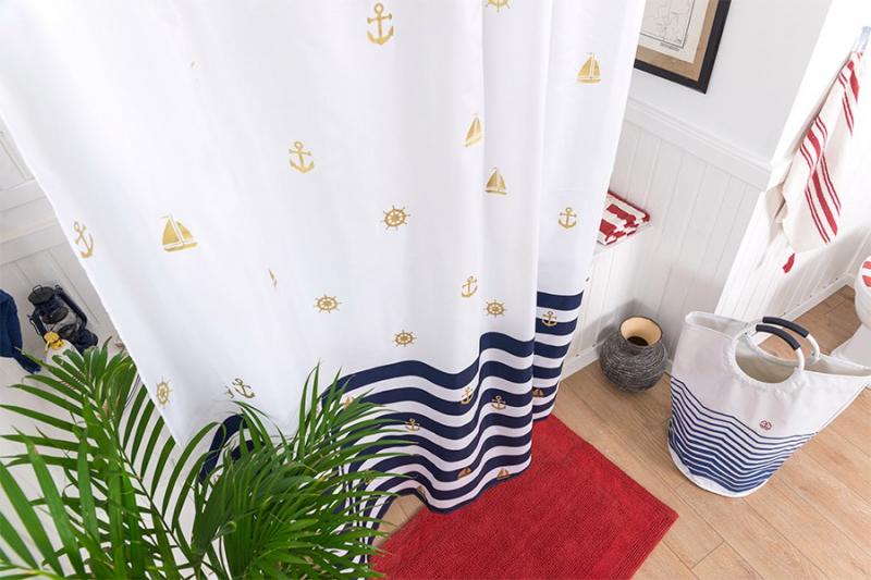 Отмыть шторку в ванной