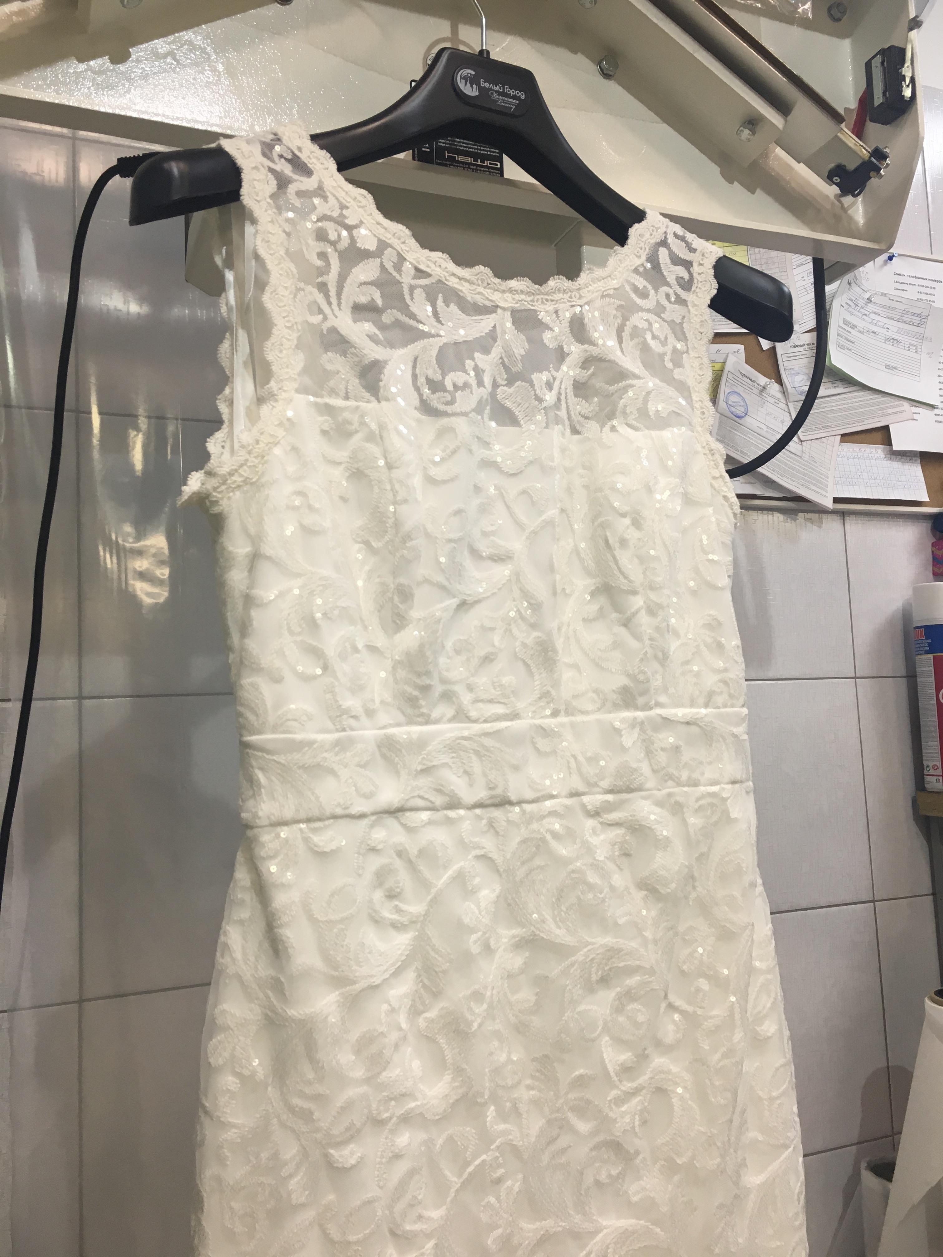 Сушка чистого платья