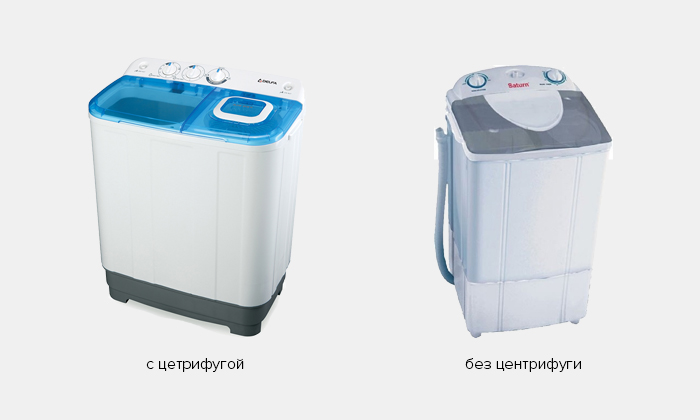 Виды стиральных машин ручного типа