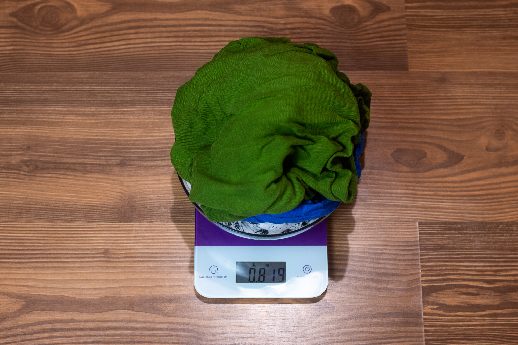 Использование весов