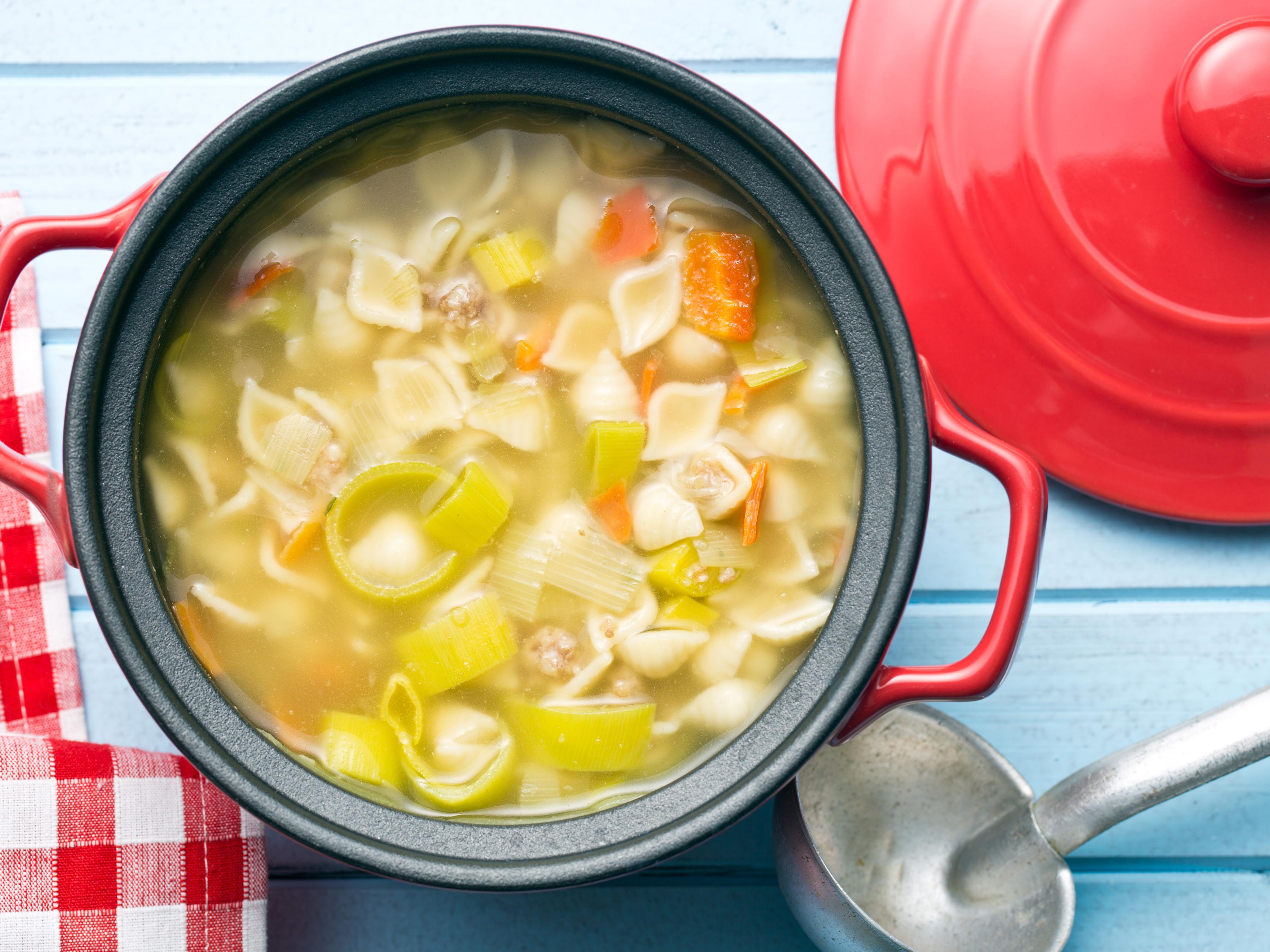 Хранение супа