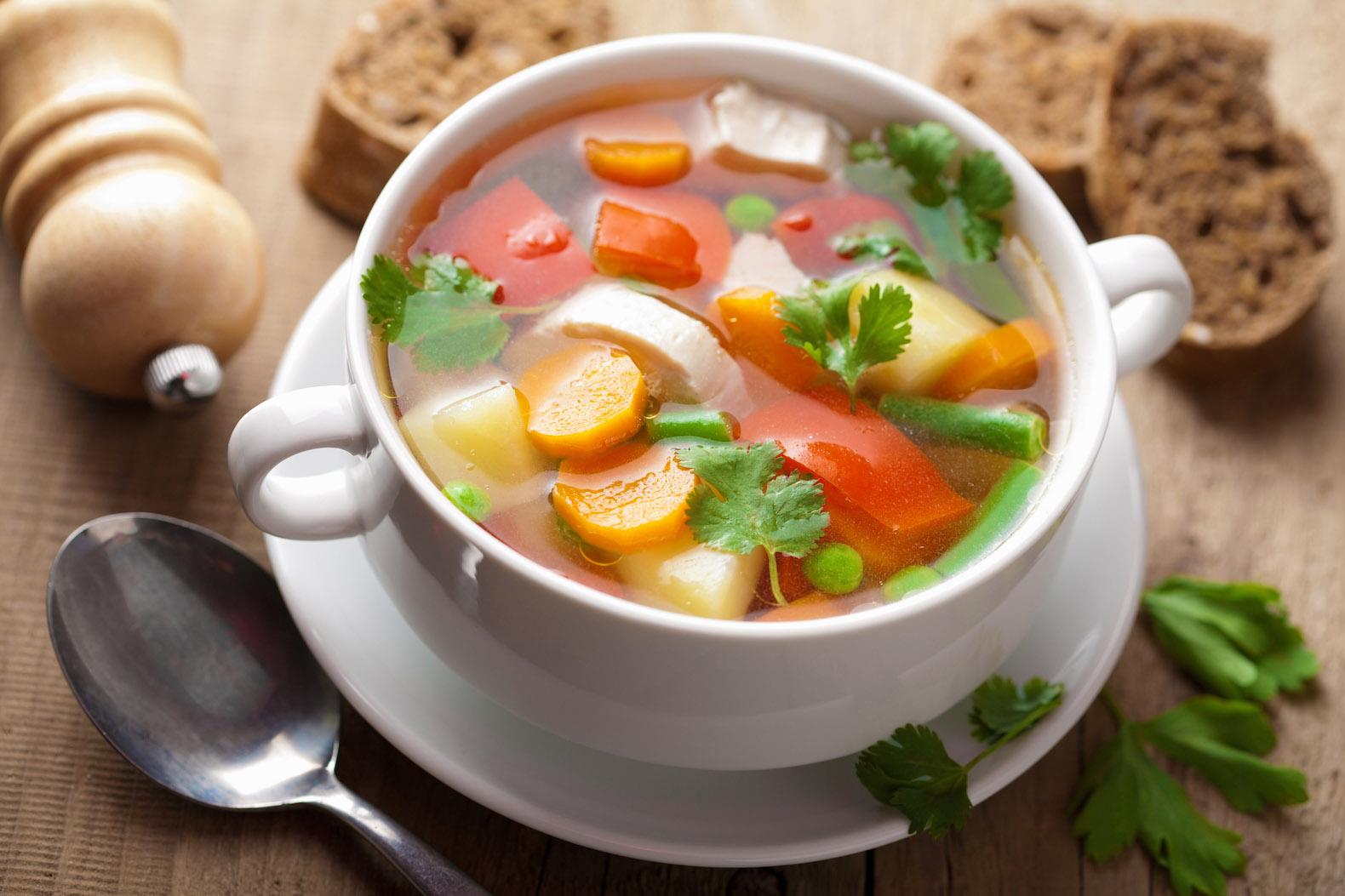 Вегетерианский суп