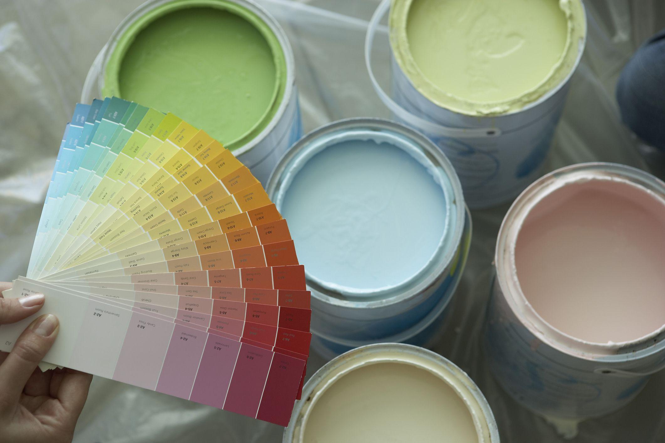 Ассортимент водоэмульсионных красок