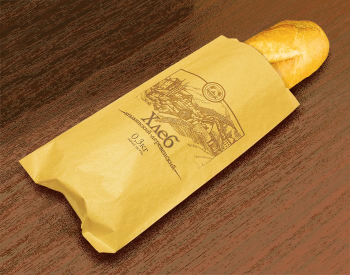 Хлеб в упаковке