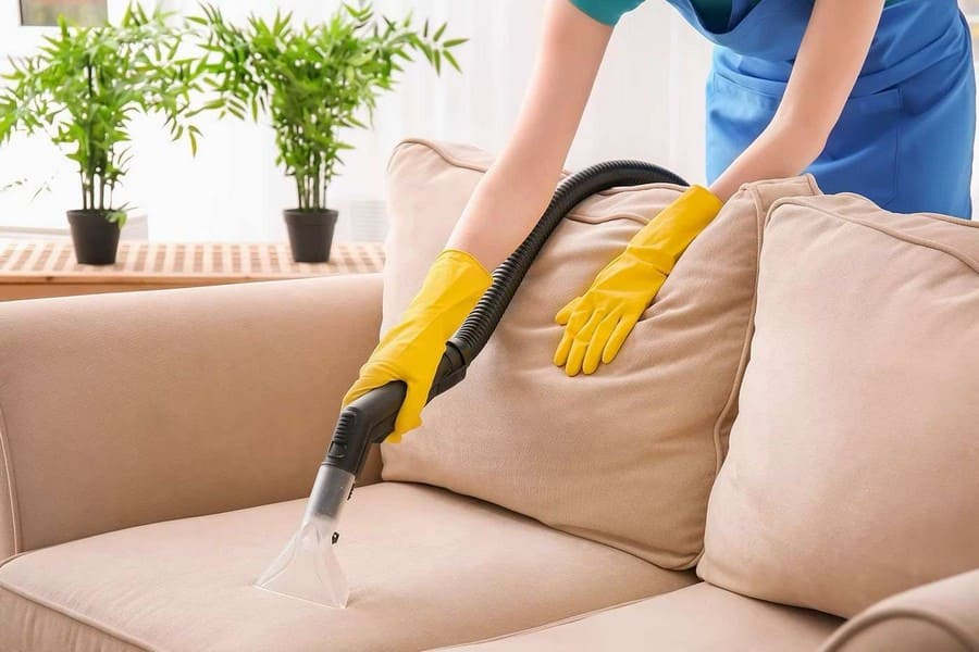Вытяжная чистка мебели
