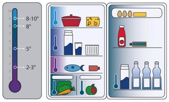 Как хранить продукты в холодильнике? 4 основных правила